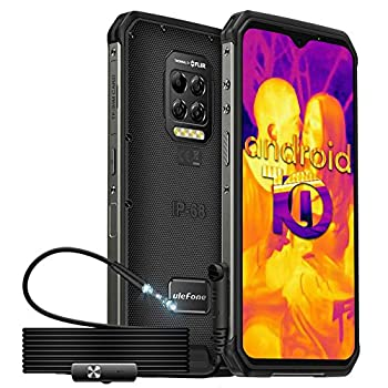 Rugged Smartphone Ulefone Armor 9 with Endoscope Thermal Imaging Camera Endoscoped Supported Helio P90 8GB + 128GB Android 10 64MP Camera 6600mAh 6.3  FHD+ Screen NFC OTG Fingerprint Face ID
