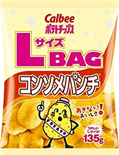 Calbee potato chips consomme punch 135gX12 bags