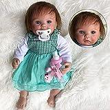 WBDZ Muñecas de bebé realistas Reborn Cute Little Alice So Truly 15 Pulgadas Muñecas de bebé recién Nacido realistas Ojos Azules Bebés de niña