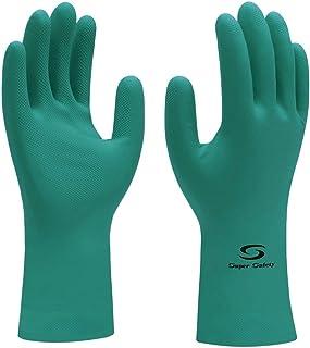 Luva de Látex Nitrílico com Forro Super Green - Super Safety