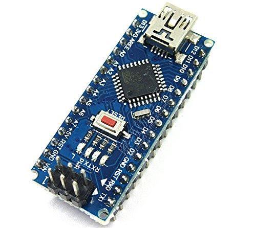 CAOLATOR Nano V3.0 AVR Atmega 328P Módulo de Placa y Cable USB a TTL 5V 16MHz para Arduino