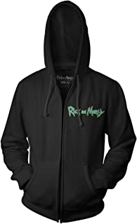 Rick and Morty Ricks of Futures Past Teratophile 1st Adult Zip Hoodie