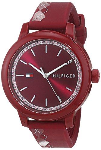 Tommy Hilfiger Reloj Análogo clásico para Mujer de Cuarzo con Correa en Silicona 1781813