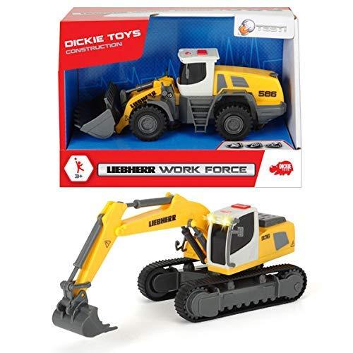 DICKIE Liebherr Work Force, Baufahrzeuge