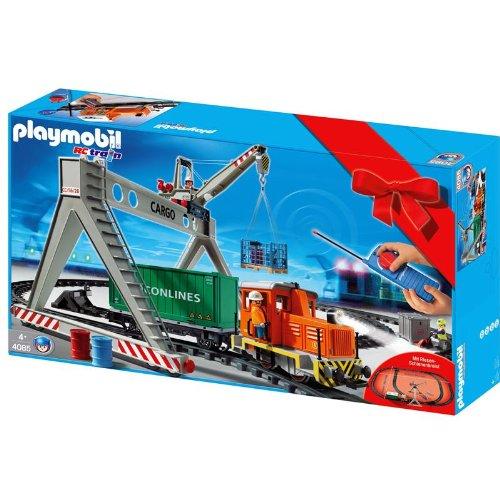 Playmobil 4085 RC-Güterzug mit Verladerkran - Sonderset