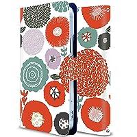 Galaxy s9 ケース 手帳型 SC-02Kケース ギャラクシーS9 カバー スマホケース おしゃれ かわいい 耐衝撃 花柄 人気 純正 全機種対応 秘密の花 赤い誘惑 ファッション フラワー かわいい 15072631