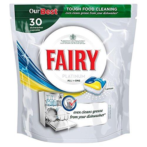 Fairy Platino Dishwasher Tablets Lemon 30per confezione