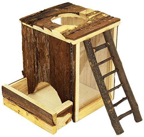 Trixie Natural Living Play y bostezando Torre, 20 × 20 × 16 cm