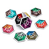 Crystal Cube NTAG 215 NFC Tags with Tough 3M Sticker ▼Our Tags Work On Metal Surfaces ▼TagMo Amiibo Compatible ▼9 Stunning Dual Color Themes for Better Recognition ▼Supreme NFC Tags Experience