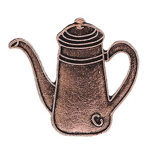 Fditt Mini Cute Novel Kaffee Wasserkocher Tasse Serie Dekorative Brosche für Mantel kleiden Dekoration MEHRWEG VERPACKUNG socialme-EU(3#)