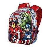 Karactermania The Avengers Force-Basic Rucksack Zainetto per bambini, 40 cm, 18.2 liters, Multicolore (Multicolour)