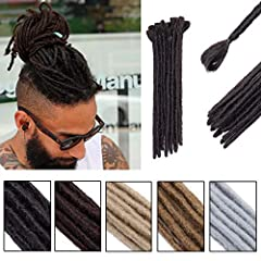 "Dread lock Extension Twist Braiding Handmade made by high quality synthetic fiber hair, special enough, easy to apply, let you be different in crowd; Specification: length:12"",short straight dreadlock extension can be trimmed as the length you want; ..."