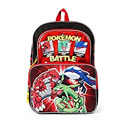 professional Pokemon Multi-Character Backpack for Boys – 16inch – Elementary School Bag