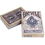 Ellusionist Bicycle 1900 Vintage Series Playing Cards - Blue - New Distressed Design