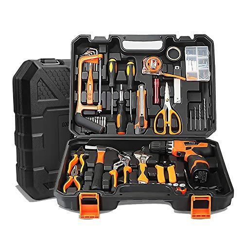 UANDM Huishoudgereedschapsset, multifunctionele gereedschapskist, reparatieauto-handgereedschapsset