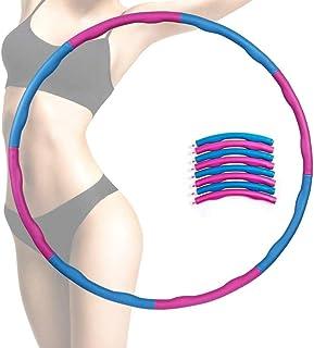 8 sektioner Fitness Bälte Bantning Enklaste och vänliga Avtagbara Fitness Artefakt Övning för att gå ner i vikt Bälte 1kg