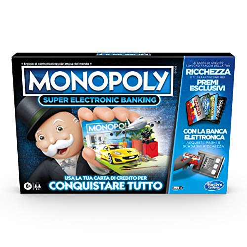 Hasbro Monopoly Super Electronic Banking (Spiel in Box mit Hasbro Gaming)