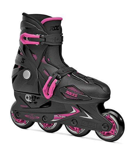 Roces Mädchen Inline-skates Orlando 3, black-pink, 25-29, 400687