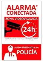 Amazon.es: cartel alarma