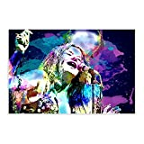 Sänger Janis Joplin 6 Leinwand-Poster, Wandkunst,