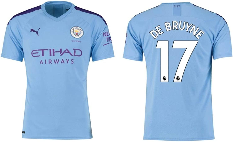 Manchester City F.C. Trikot Herren 2019-2020 Home PL - De Bruyne 17