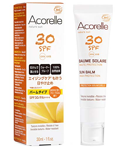 Crema solar natural ACORELLE
