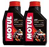 Olio Miscela Motul 710 2T sintetico pack 2 litri (2x1 lt)
