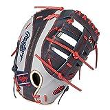 ローリングス(Rawlings) 野球用 軟式 HOH® MLB COLORSYNC [ファースト用] サイズ12.0 GR1HMTM グレー/ネイビー サイズ 12 ※右投用