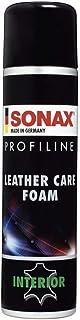 SONAX PROFILINE LeatherCare Foam (400 ml) ergiebiger Reinigungs  und Pflegeschaum für Autoinnenausstattungen aus Glattleder   Art Nr. 02893000