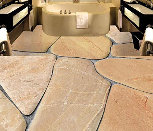 3D-Bodentapete Custom Photo Cobblestone Wallpaper 3D-Bodentapeten Für Wohnzimmer Selbstklebende Tapeten