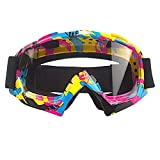 MOOREAXE Motorcycle Goggles,Motocross Motorbike Scooter OTG Glasses Flexible Frame eyewear For Women Men Adult Riding Ski Skate Snowboarding Goggles Sunglasses