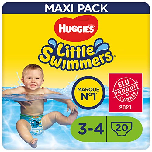 Huggies Little Swimmers - Culottes de bain T3-4 x20