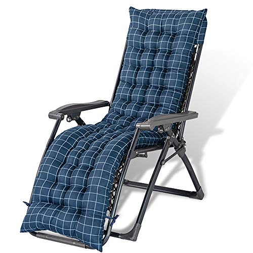 Cojines de repuesto para tumbonas, cojines de repuesto para muebles de jardín, fundas de cojín de repuesto, para viajes, vacaciones, jardín, interior y exterior (estilo 1)