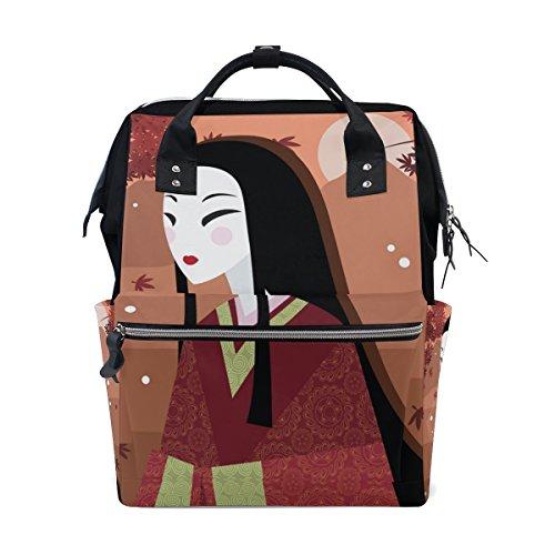 momie Sac à langer bébé Sac à langer de grande capacité Sacs Fourre-tout Japanese Woman Muti-function Sac à dos de voyage