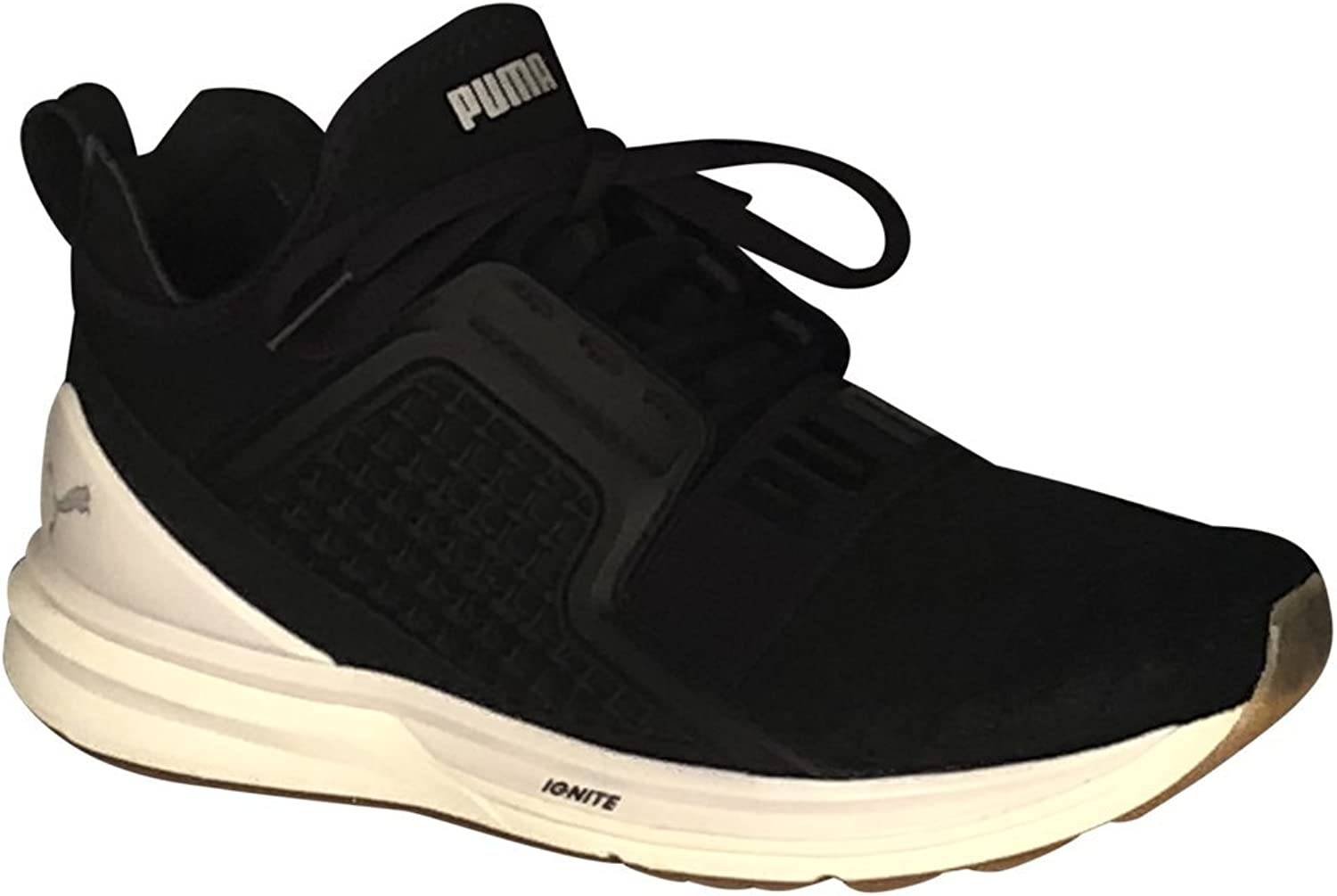 PUMA Women's Ignite Limitless Reptile Fashion Sneakers Black