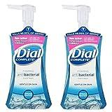 Dial 05400 7.5 Oz Spring Water Anti-Bacterial Foaming Hand Soap 2-Pack