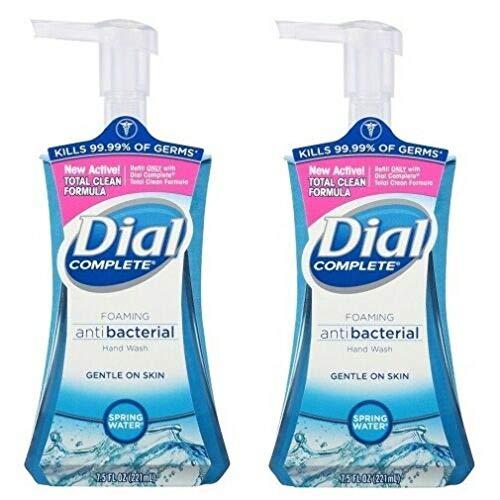 Dial Complete® Spring Water® Foaming Antibacterial Hand Wash - Blue - 7.5 fl oz