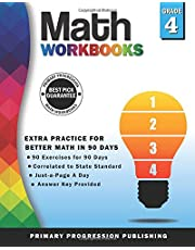 Math Workbook Grade 4: 90-Day Common Core Practice for Better Math