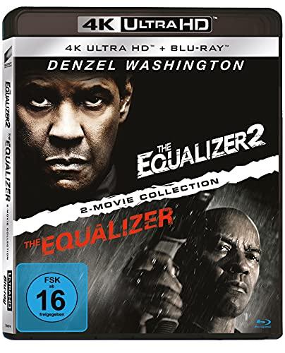 Equalizer 1 & 2 - 4-Disc-Set (2 UHD, 2 BD, Limited Edition) exklusiv bei Amazon.de [Blu-ray]