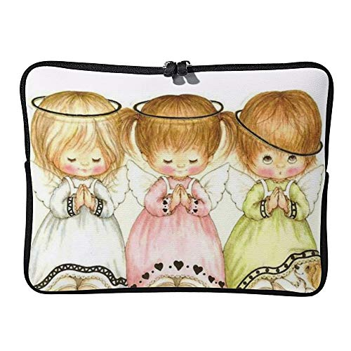 Little Angels Praying 12 Inch Protective Laptop Sleeve Ultrabook Notebook Carrying Case Compatible with MacBook Pro MacBook Air Tablet Briefcase Bag