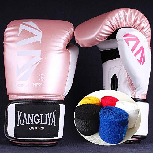 Boxhandschuhe Kinder 6oz Junior Boxhandschuhe Stanzhandschuhe Boxbandagen 3 Bis 10 Jahre alt Muay Thai Taekwondo Sanda Fight