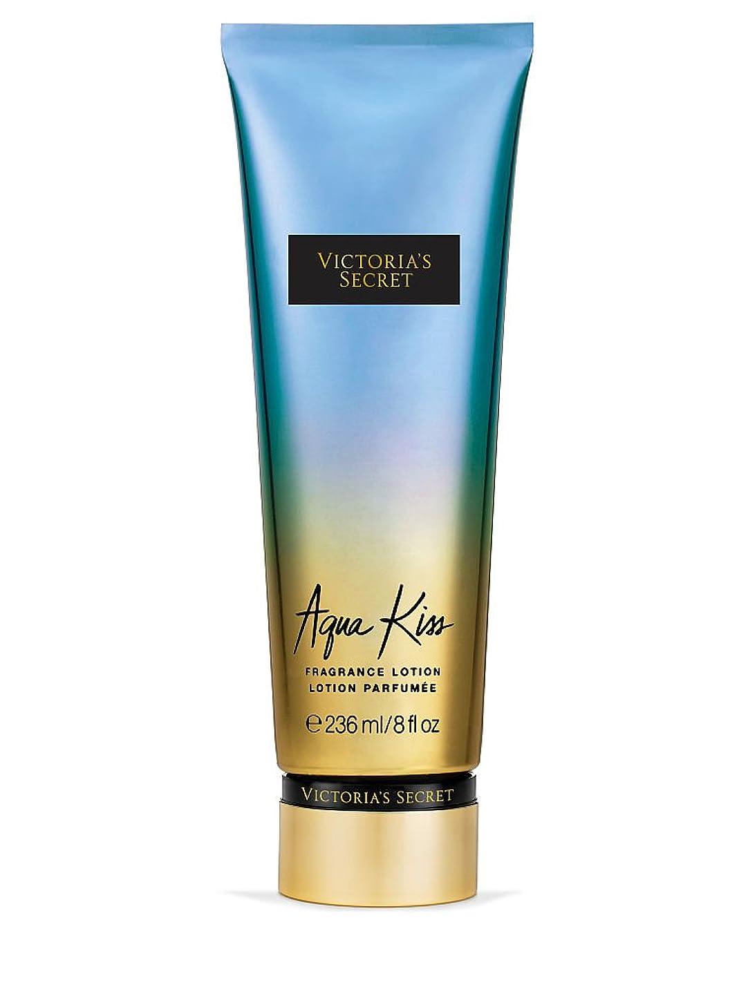 アルカトラズ島バレエ泥だらけVictoria's Secret ヴィクトリアシークレット Aqua Kiss Fragrance Lotion フレグランス ボディーローション アクアキス 236ml [並行輸入品]