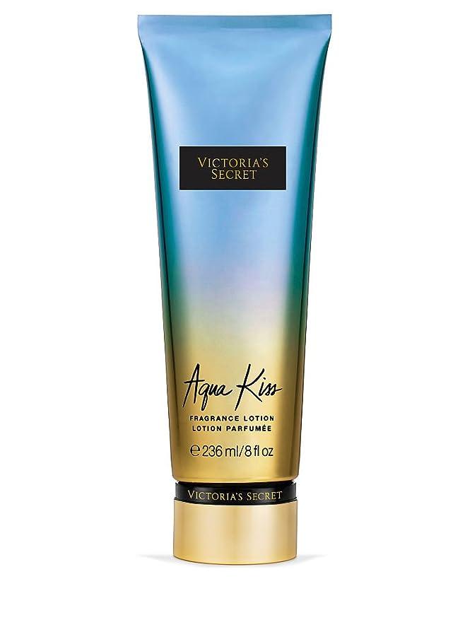 定義扱う心からVictoria's Secret ヴィクトリアシークレット Aqua Kiss Fragrance Lotion フレグランス ボディーローション アクアキス 236ml [並行輸入品]