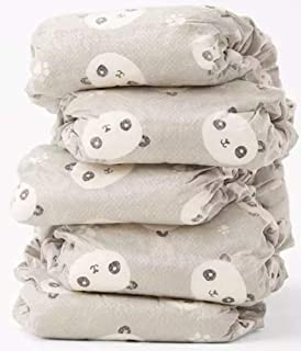 The Honest Company - Eco-Friendly and Premium Disposable Diapers - Pandas, Size 2 (12-18 lbs), 32 Count