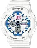 [カシオ] 腕時計 ベビージー BA-120-7BJF ホワイト