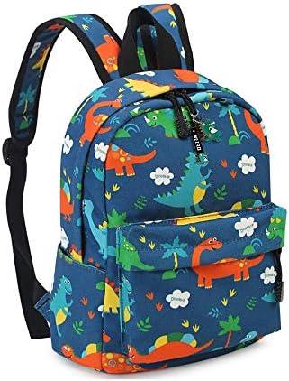 Kids Book Backpack Child School Bag Kindergarten Canvas Daypack Cartoon Dinosaur Bag for Boys product image