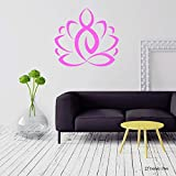 Lotus Tatuajes de pared  Relajación  ViniloAdhesivo de pared  Studio Vinyl Fashion Decor L607