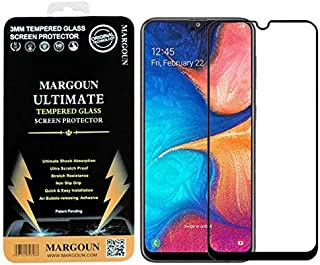 MARGOUN for Samsung Galaxy A42 5G Screen Protector Side Black 9D Tempered Glass 6.6 inches