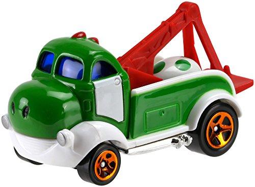 Voiture Hot Wheels Super Mario - Yoshi - Mattel