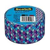Scotch Duct Tape, Blue Plate, 1.88-Inch x 10-Yard